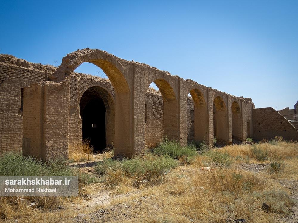 فراموشی بنای تاریخی انبار غله سرخس