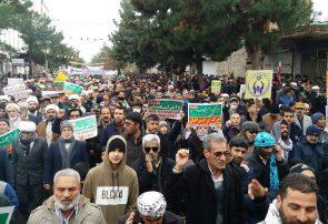 قاب حماسه حضور   حضور حماسی مردم سرخس در مراسم راهپیمایی ۲۲ بهمن ماه ۹۸