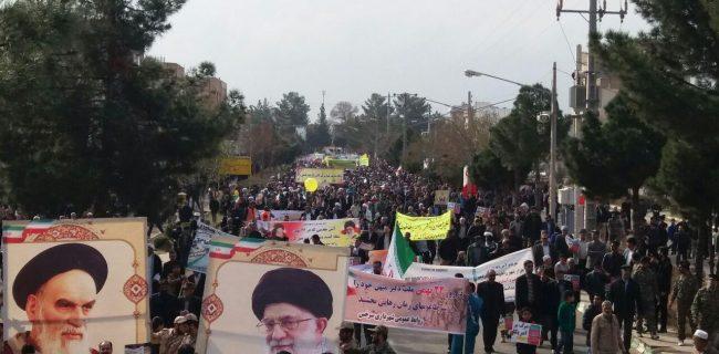جشن ۴۰ سالگی انقلاب با حضور چند هزار نفری مردم سرخس برگزار شد